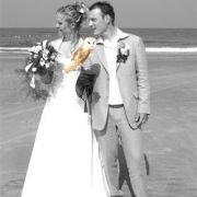 Bruidspaarstranduil